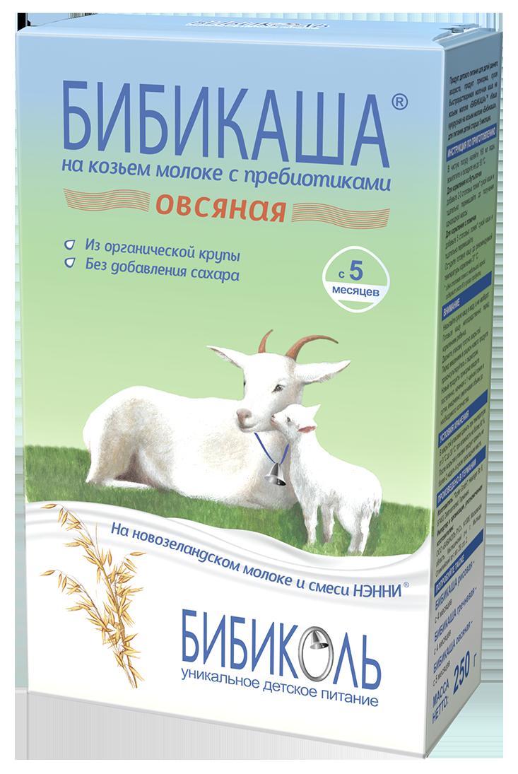 БИБИКАША<sup>®</sup> Овсяная на козьем молоке с пребиотиками, 200 г