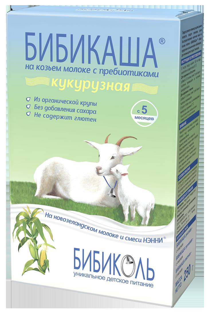 БИБИКАША<sup>®</sup> Кукурузная на козьем молоке с пребиотиками, 200 г